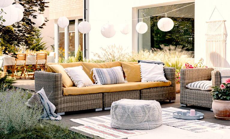 top outdoor decor tips and advice for sprucing up the look of your home outdoor living area