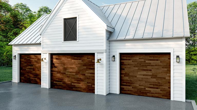benefits of mahogany garage doors