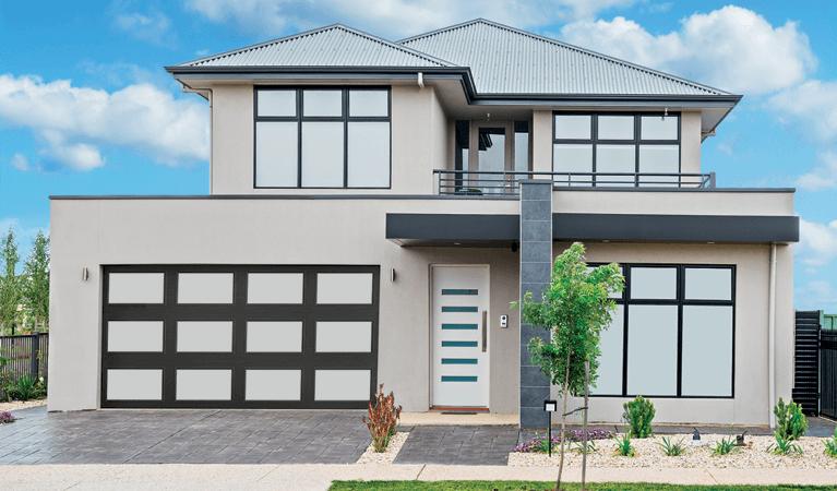explore the different styles of garage door windows