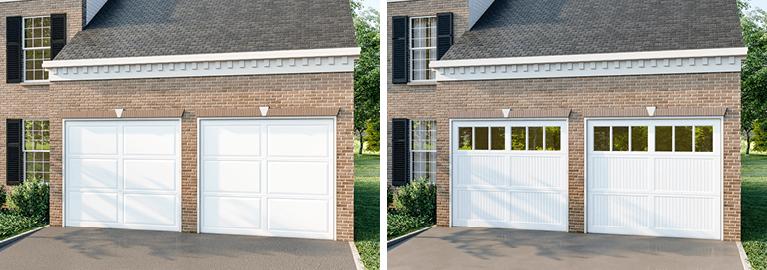 how to weigh the benefits of garage door windows