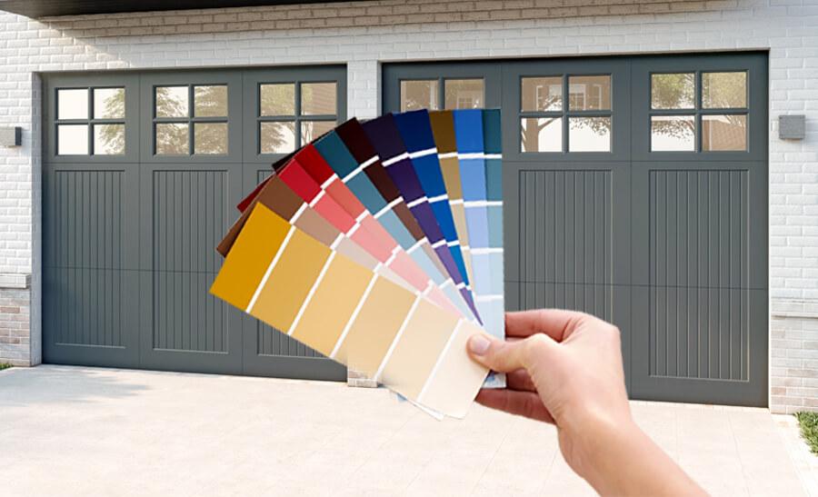 Choosing Garage Door Colors & Finishes