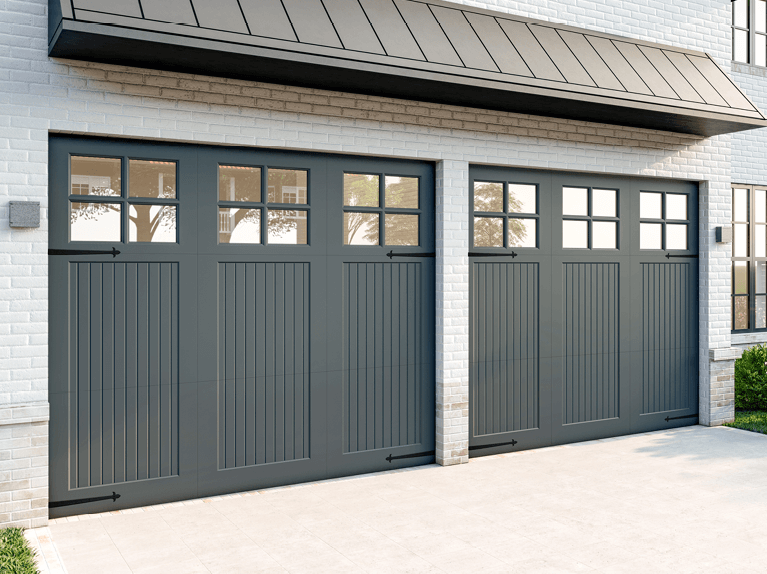 what is the price of a premium-quality custom garage door