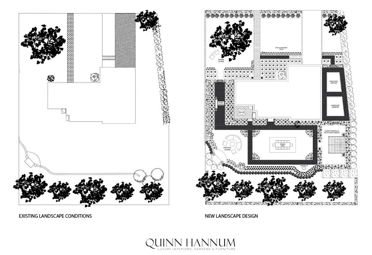 how to plan the layout of an outdoor living space