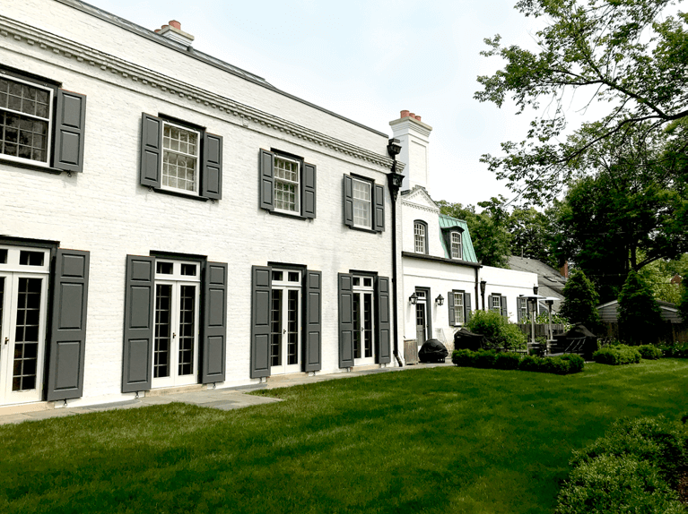 historic restoration in winnetka, IL, by hackley and associates architects