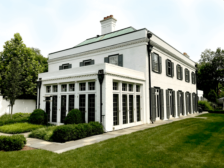 kuppenheimer house national historic landmark in winnetka, IL
