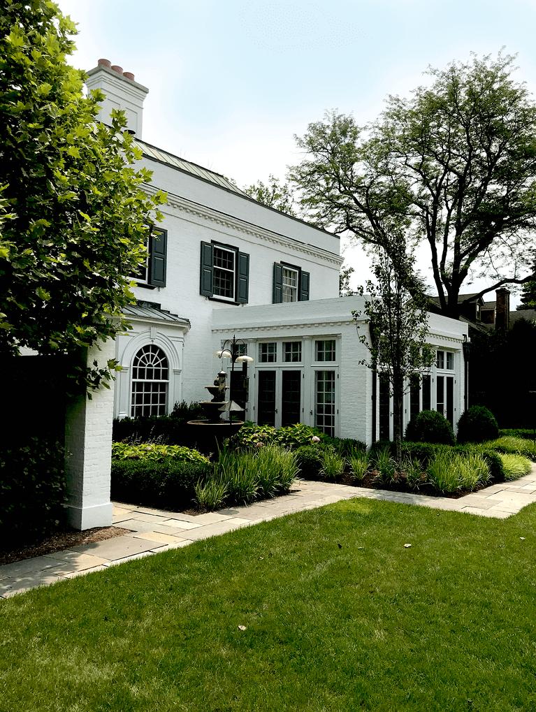 kuppenheimer house historic landmark in winnetka, IL, restored by hackley architects