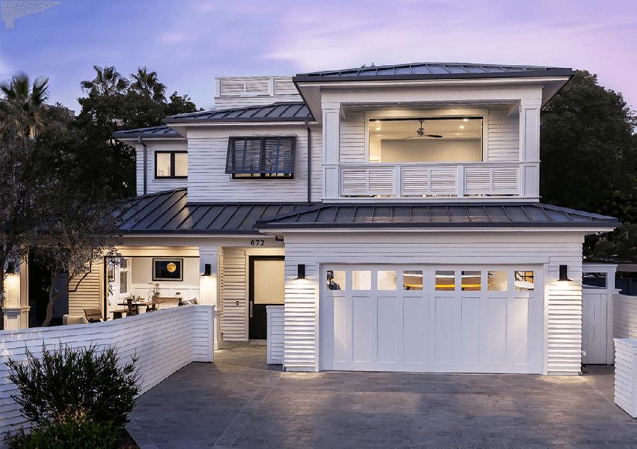 insulated garage doors with windows