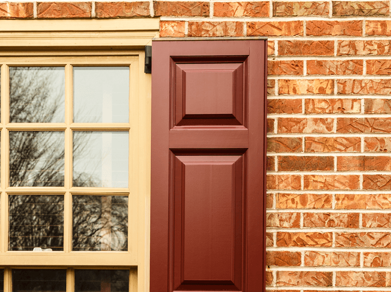 how does shutter capping protect exterior shutters