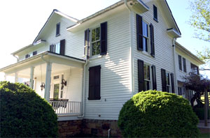 Traditional Home with Traditional timberlane Shutters