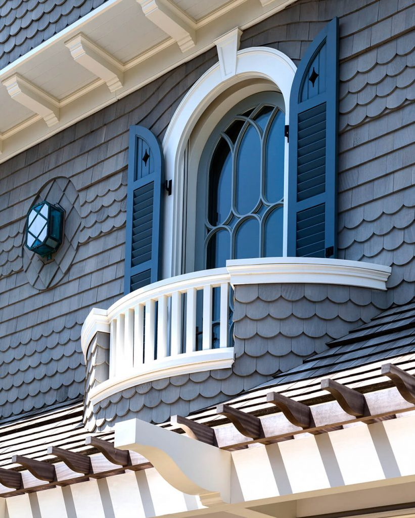 Window Makeovers For Incredible Curb Appeal This Charming Lookout Is  Dressed In Customized Combination Shutters With V Groove Flat Panels At