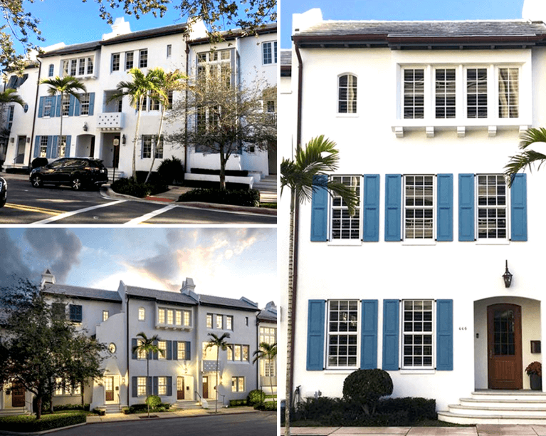 custom townhomes in coral gables, fla. designed by nelson de leon