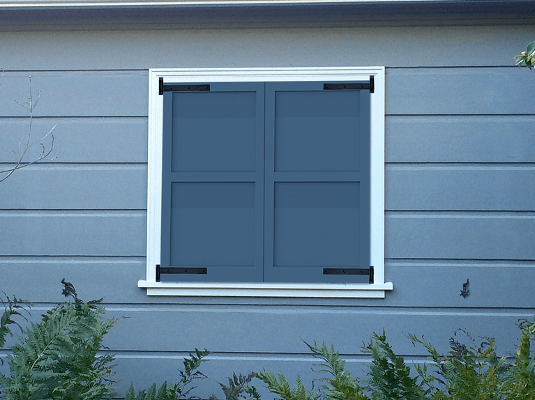how do functional shutters improve insulation