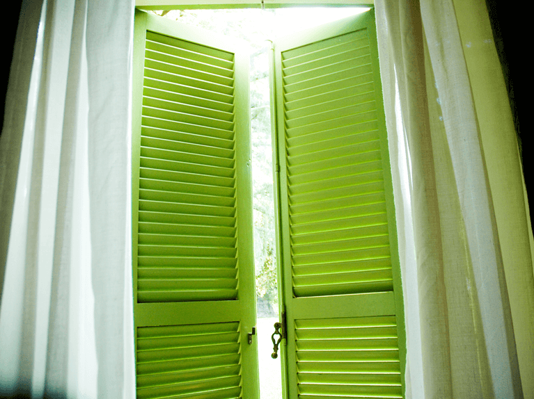 how do functional shutters help with privacy