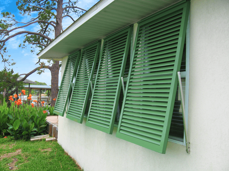 how do functional shutters protect windows