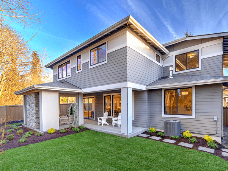 should you add shutters to the back of a house