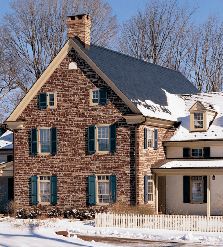how to choose shutters for a stone colonial home