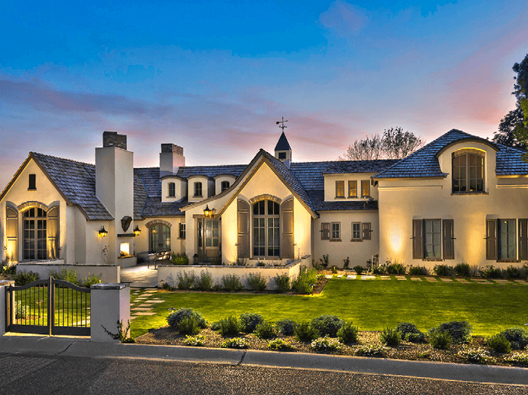 how to choose exterior shutters for a stucco home