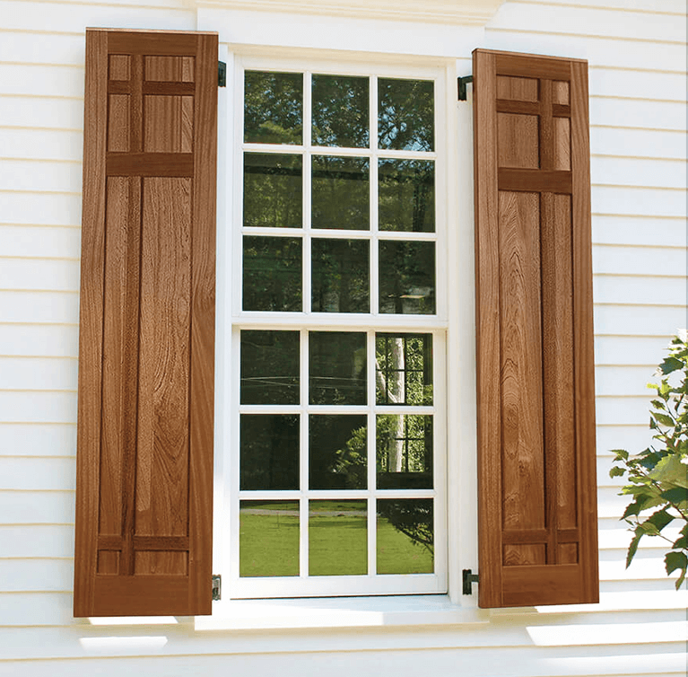 what types of wood are the best for exterior shutters