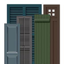 Timberlane Endurian Shutter Styles