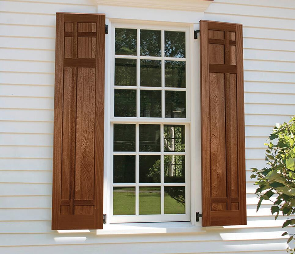 exterior rustic shutters