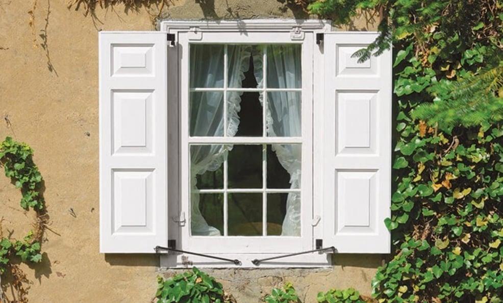 rustic outdoor shutters
