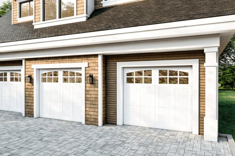 rustic wood garage doors