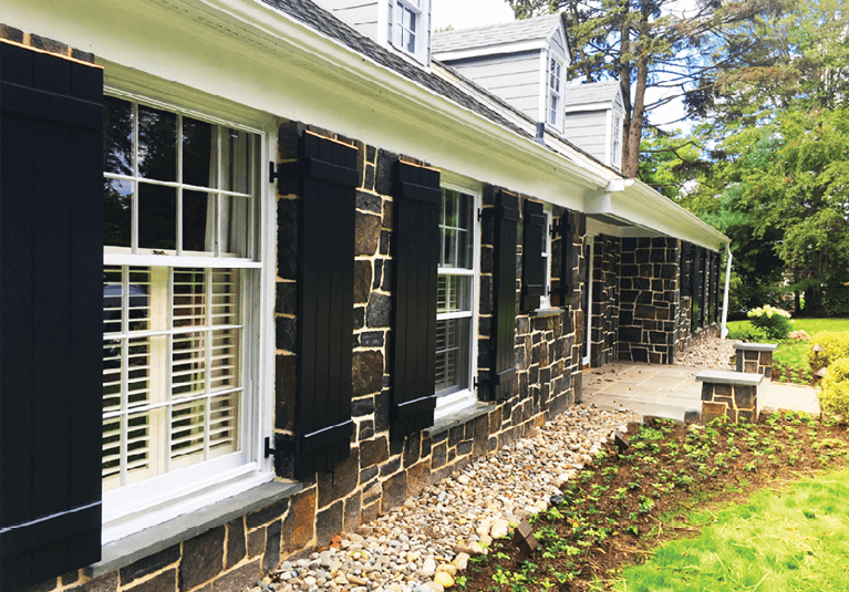 7 Styles of Exterior Black Shutters for Your House