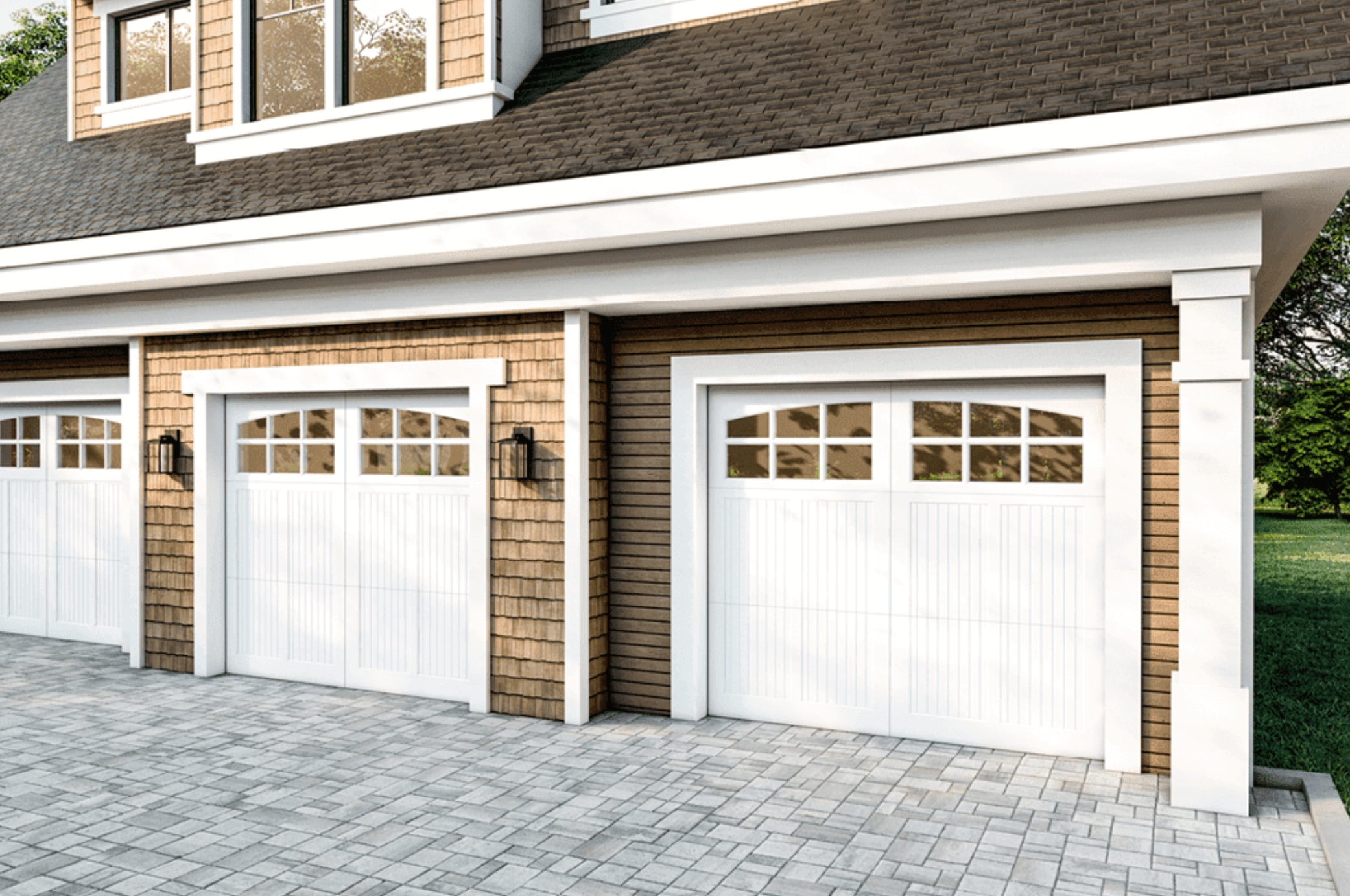 6 Benefits of Mahogany Garage Doors